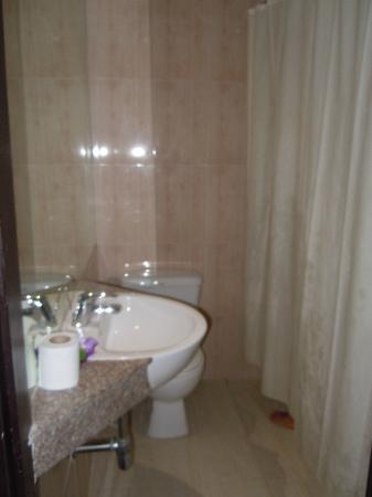 Roma Hotel: Bagno della stanza