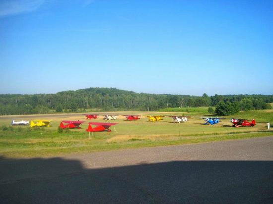Telemark Resort & Convention Center: Howard Aircraft Fly In