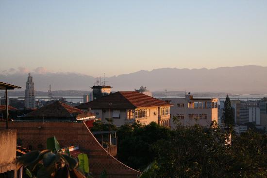 Canto da Carambola: Blick von der Dachterasse