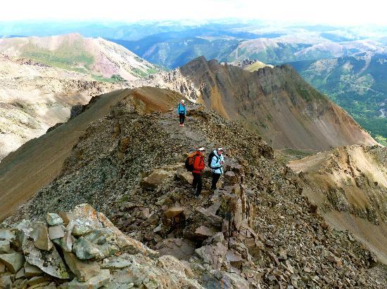 Tyrolean Lodge: Castle Peak 14,256'
