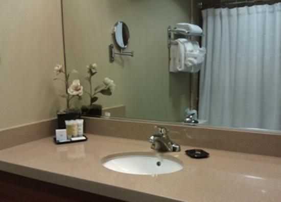 The Lodge at Feather Falls Casino : Bathroom