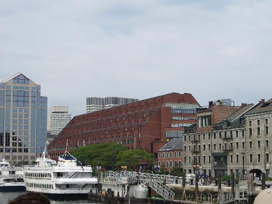 view from our room picture of boston marriott long wharf. Black Bedroom Furniture Sets. Home Design Ideas