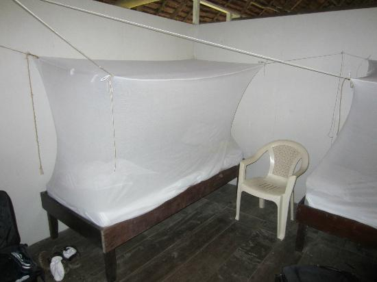 ExplorNapo Lodge: Mosquito netting is mandatory & works perfectly