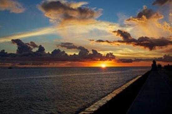 Miyagi Coast: 最高の夕日