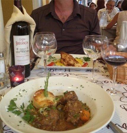 Auberge Provencale: bonne présentation des plats
