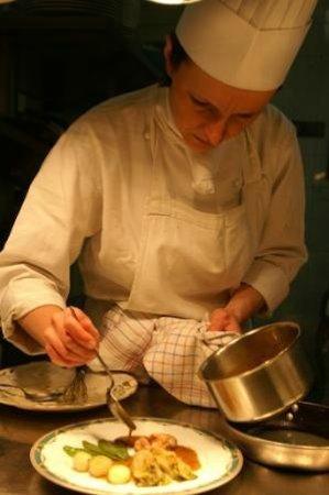 Auberge Napoleon restaurant : Agnès la Chef