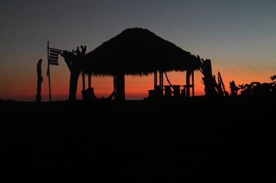 Hostel Viejamar Surf: La ramada de Viejamar