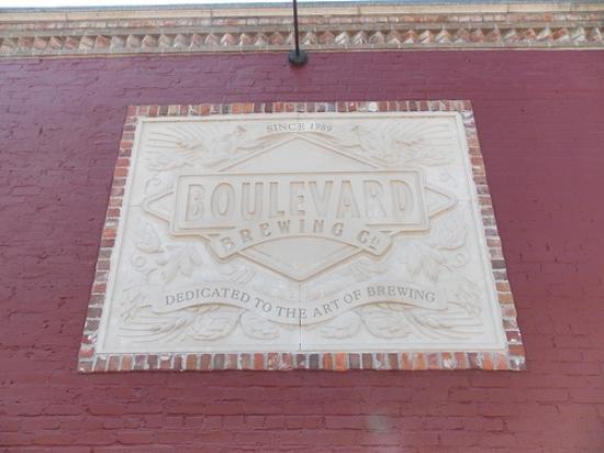 Boulevard Brewing Company: Sign near tour entrance