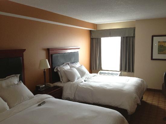 Radisson Hotel Ottawa Parliament Hill: camera d'albergo con vista