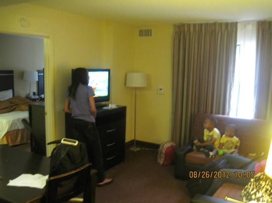 Living room picture of homewood suites by hilton anaheim for The family room on main