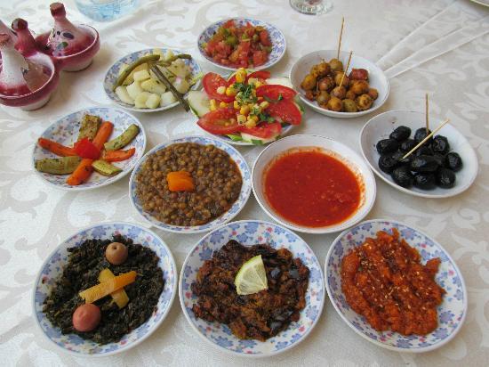 Riad Dar Tim Tam: Salad course