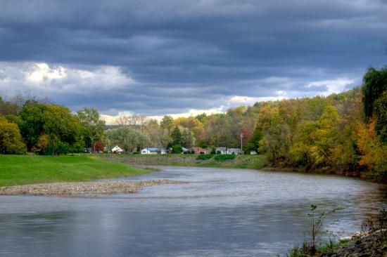 1850 House Inn & Tavern: The Roundout River