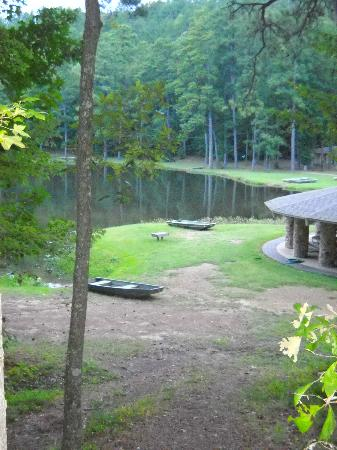 Oak Mountain State Park: Lake view from our cabin