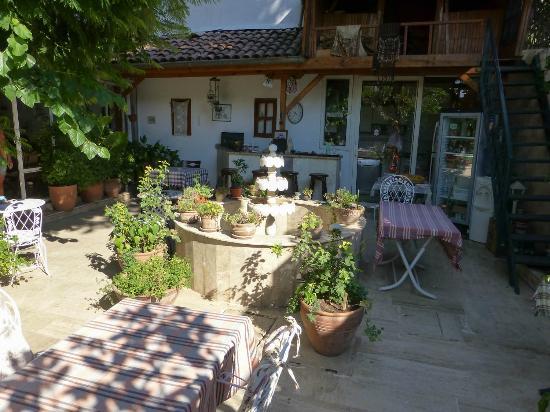 Sibel Pansiyon: From the backyard of Sibel Pensiyon in Antalya