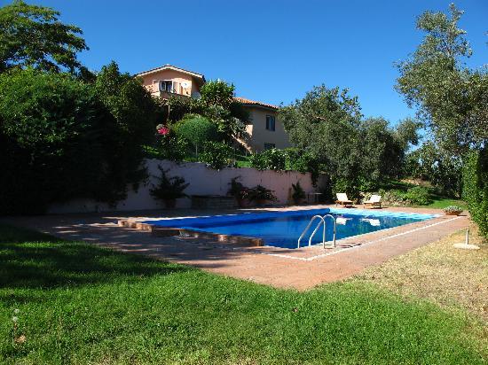 B&B Villa le Giare nella Tuscia: Swimming pool