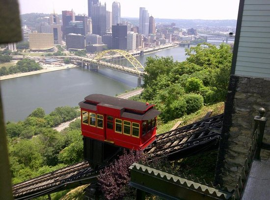 Duquesne Incline: The view of Pittsburgh