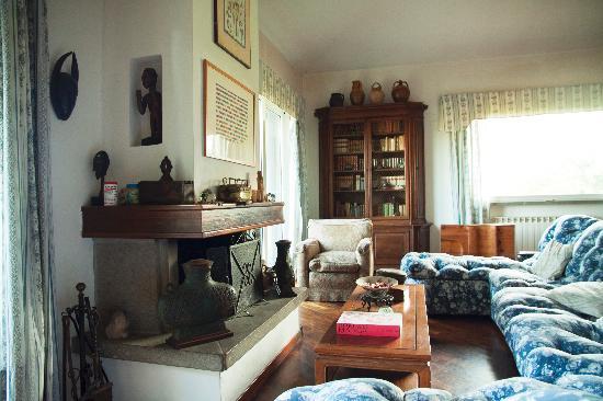 B&B Villa le Giare nella Tuscia: Living room