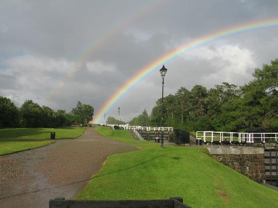 The Moorings Hotel at the end of the rainbow!