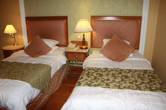ذي أوبروي مدينة: Beds in the room, nice and clean!