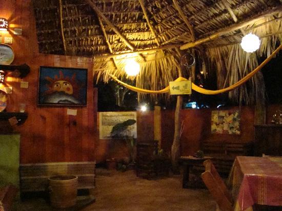 Restaurantde El Mare: Cálido ambiente