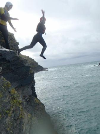 Cornish Coast  Adventures: Coasteering routes of varying difficulty.