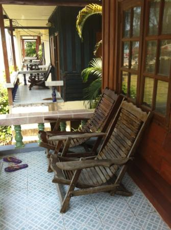 Blue Lotus Resort: balcony