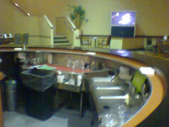 Holiday Inn Philadelphia South-Swedesboro: Back stairs/bar area