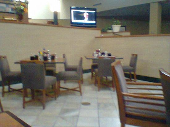 Holiday Inn Philadelphia South-Swedesboro: Flat screen in dining area