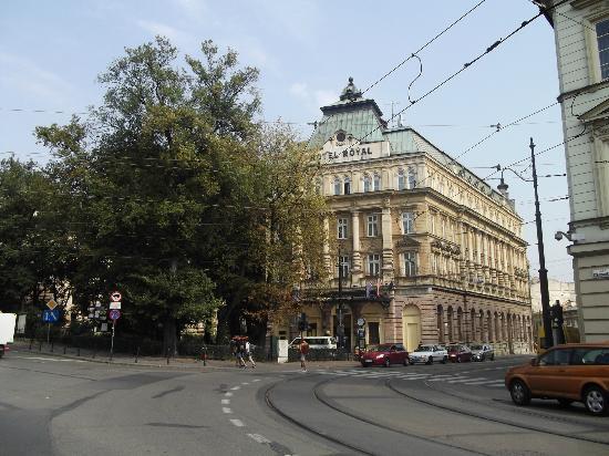 Royal Hotel: facciata