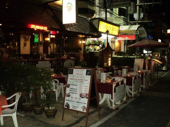 Karon Cafe Steakhouse & Thai Cuisine: Karon Cafe 23 years of Safe clean Steak Dining in the Heart of Karon