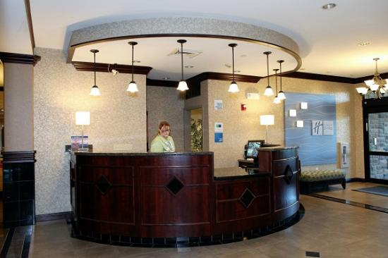 Holiday Inn Express & Suites - Medical District: Front Desk - Reception