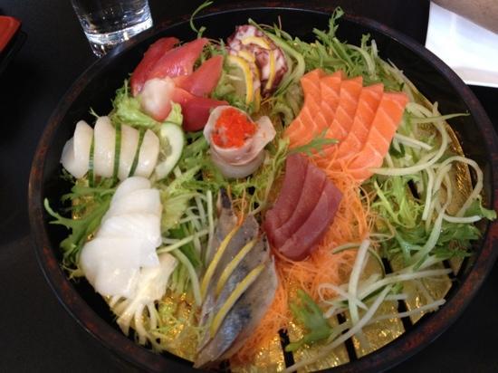 St. Sushi: sashimi platter for 2