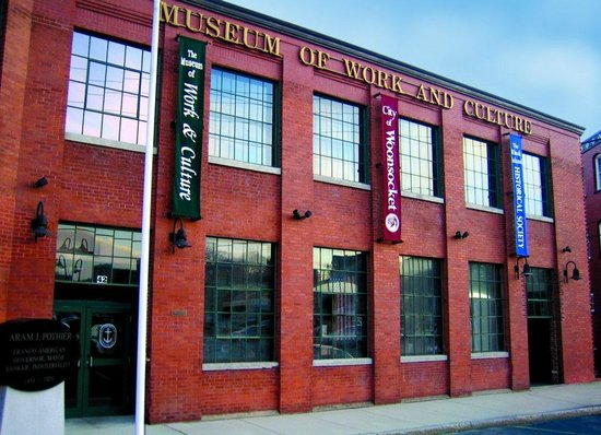 Woonsocket, RI: Museum of Work and Culture Exterior