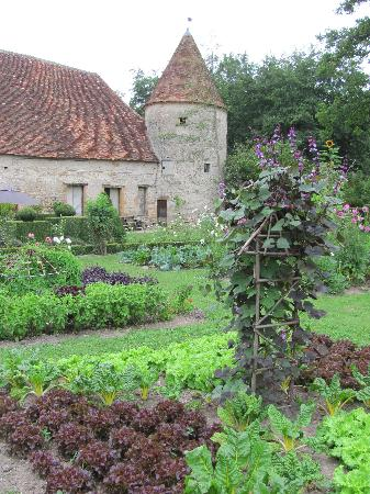 Chateau de Cormatin: The 'potager' or kitchen garden