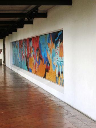 Casa Santo Domingo: Hallway muriel