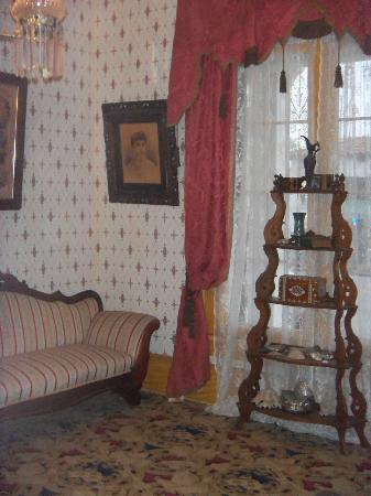 Whaley House Museum: Living room, photo of Mrs. Whaley