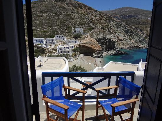 Pasithea Folegandros: view from the balcony of our room