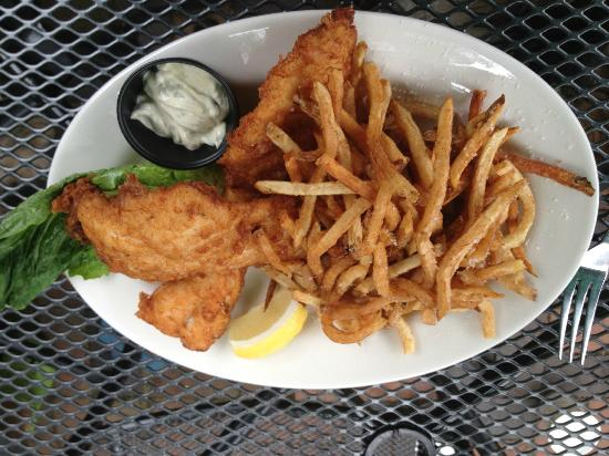 General Sutter Inn: Fish and Chips -Two Large Filets