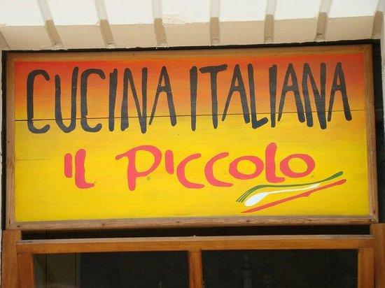 Cucina Italiana Il Piccolo: IL PICCOLO