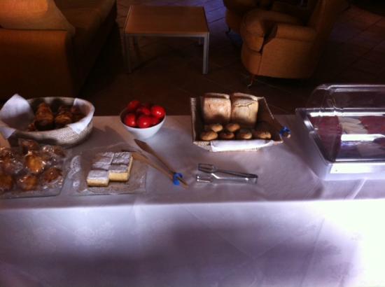Hotel de la Moneda: desayuno