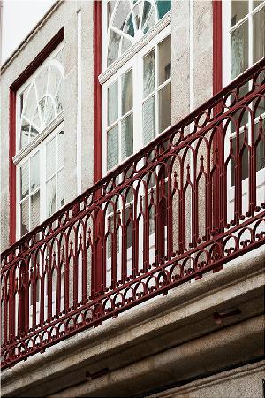 Casa do Pinheiro: Balcony
