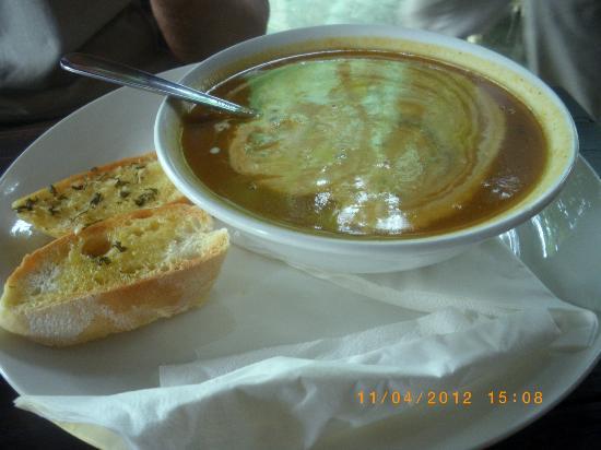 Sea View Villa: суп
