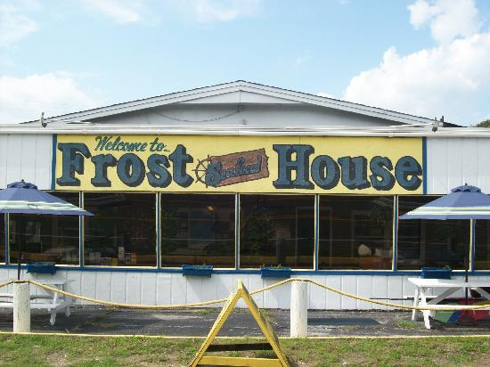 FROST SEAFOOD HOUSE IN BUSINESS SINCE 1956 , SERVES THE FRESHEST SEAFOOD ON BOGUE BANKS !!! . .