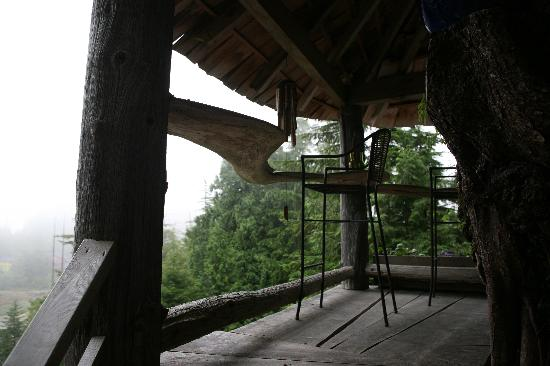 Ukee Treehouse B&B : vue de la chambre