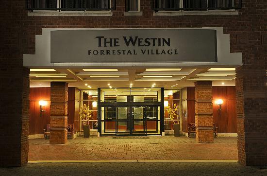 The Westin Princeton at Forrestal Village: Westin Princeton Porte Cochre