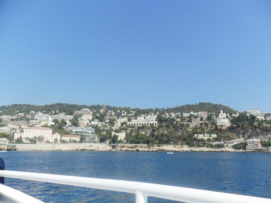 Trans Cote D'azur - The Coastal Ride: View of Ville Franche from