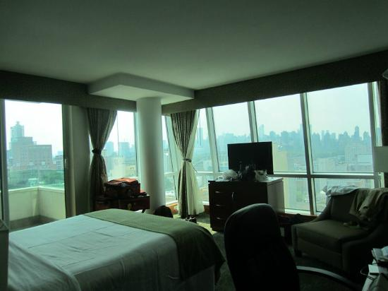 Room 1201. Why put a big TV in the middle of the view? - Picture of ...