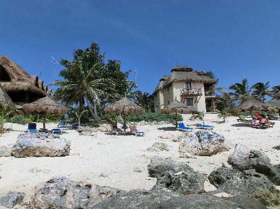 Hotel Cabanas Luna Maya : (fast) einsame Bucht