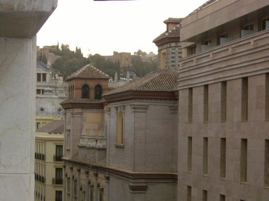 Hotel Universal: Vista desde la cafetería