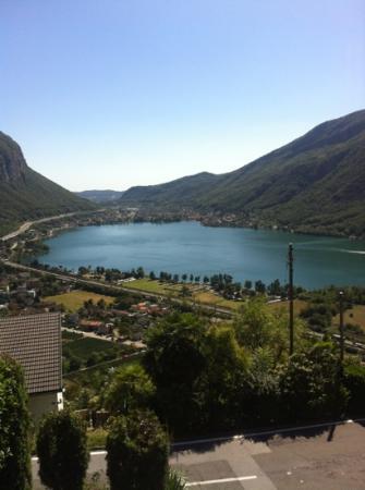Casa Rosa: lago